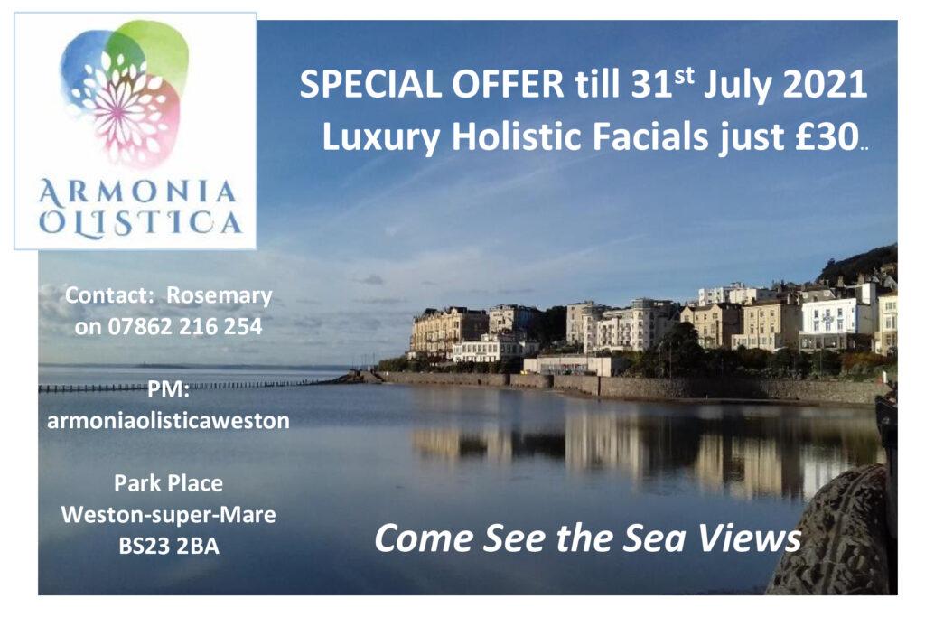 luxury massage facial sea offer